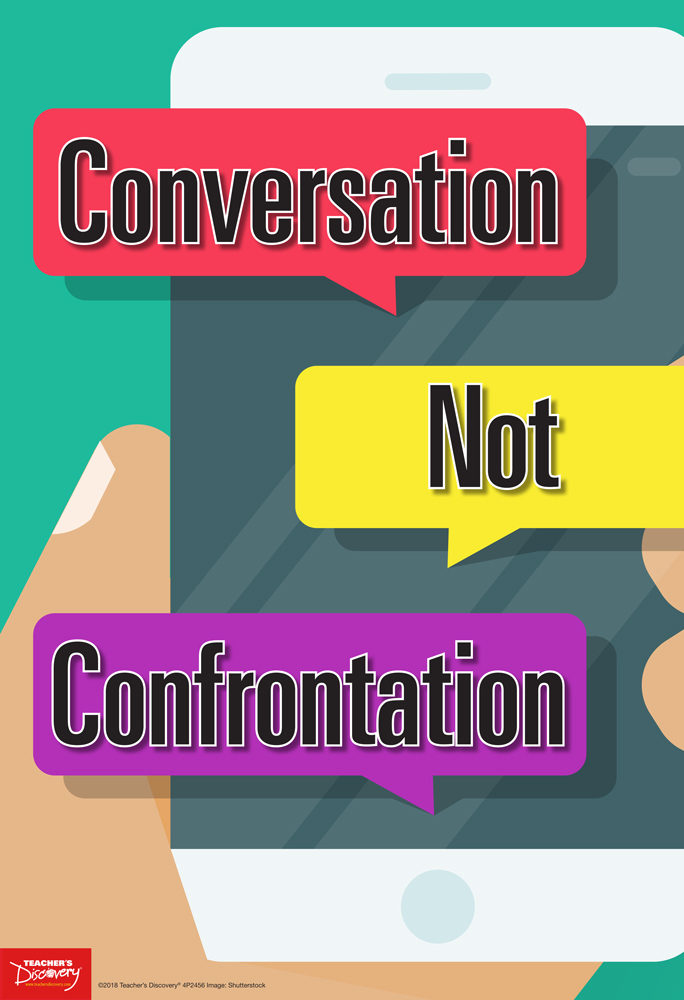 Conversation Not Confrontation Mini-Poster