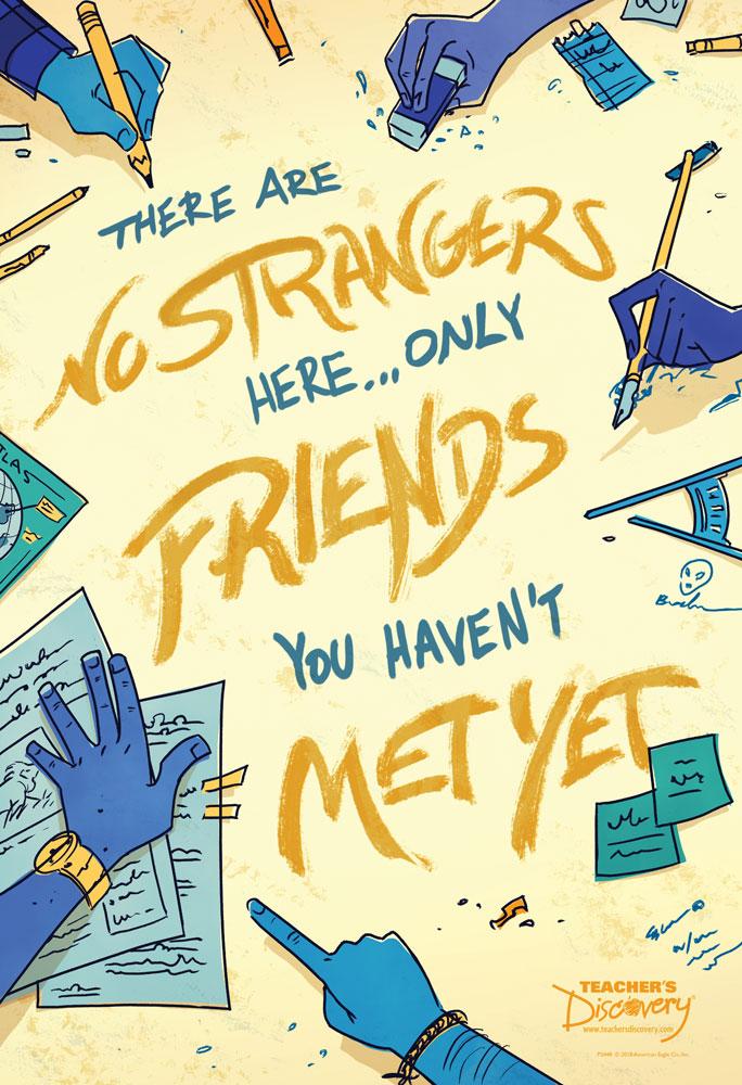 No Strangers Mini-Poster