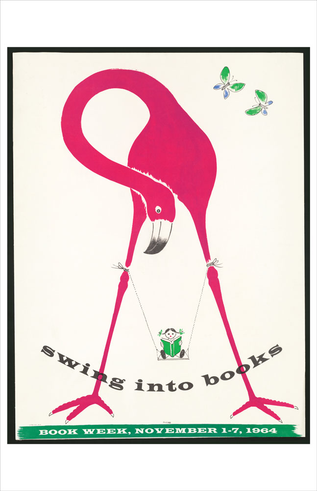 WPA Reading Poster: Swing into Books