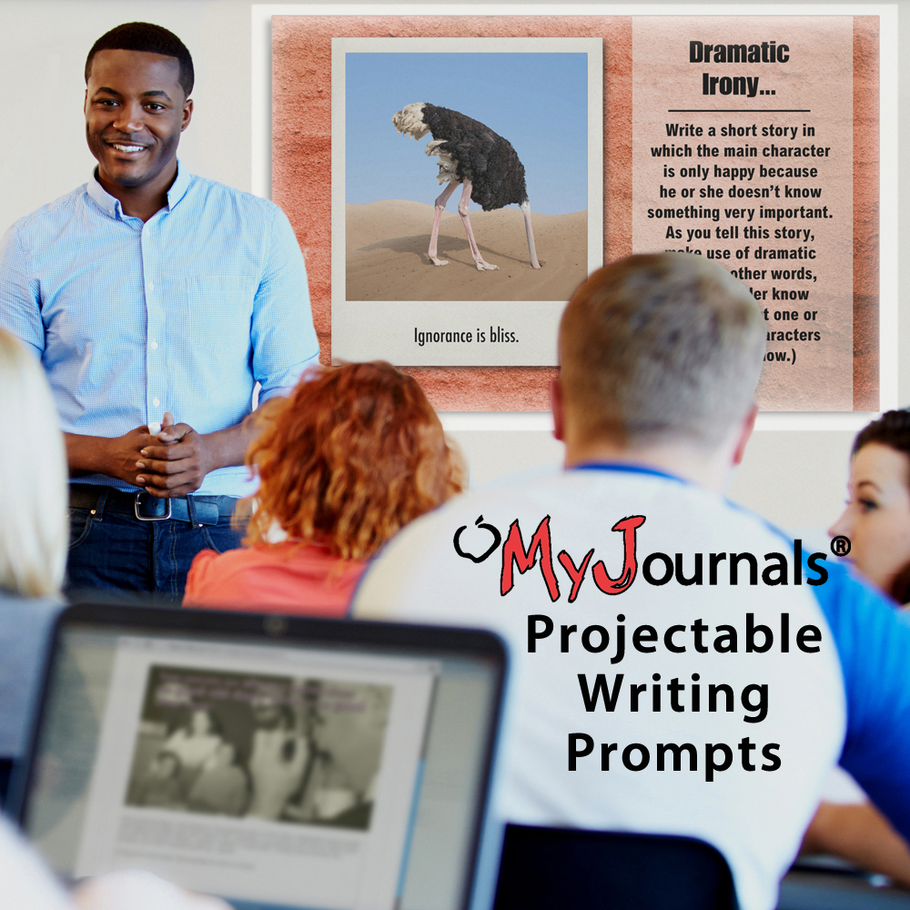 My Journals® Projectable Writing Prompts Downloads