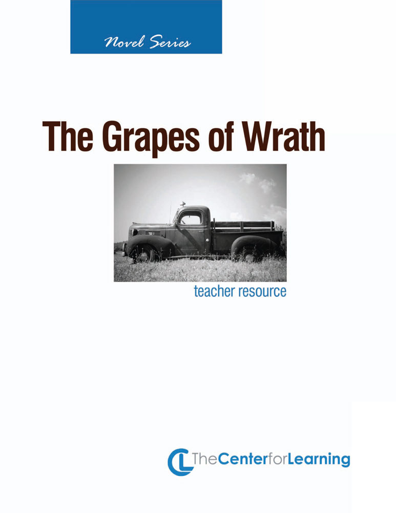 plot questions and answers regarding the book grapes of wrath