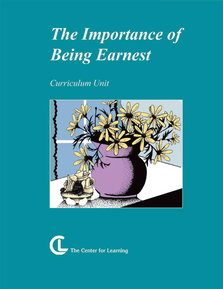 The Importance of Being Earnest Curriculum Unit