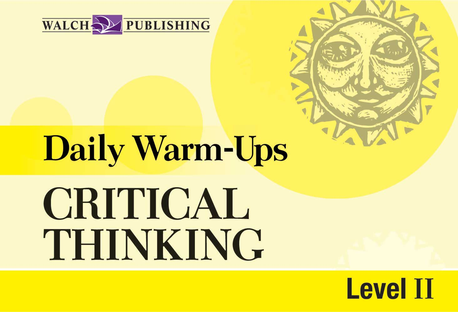 Daily Warm-Ups: Critical Thinking II Activity Book