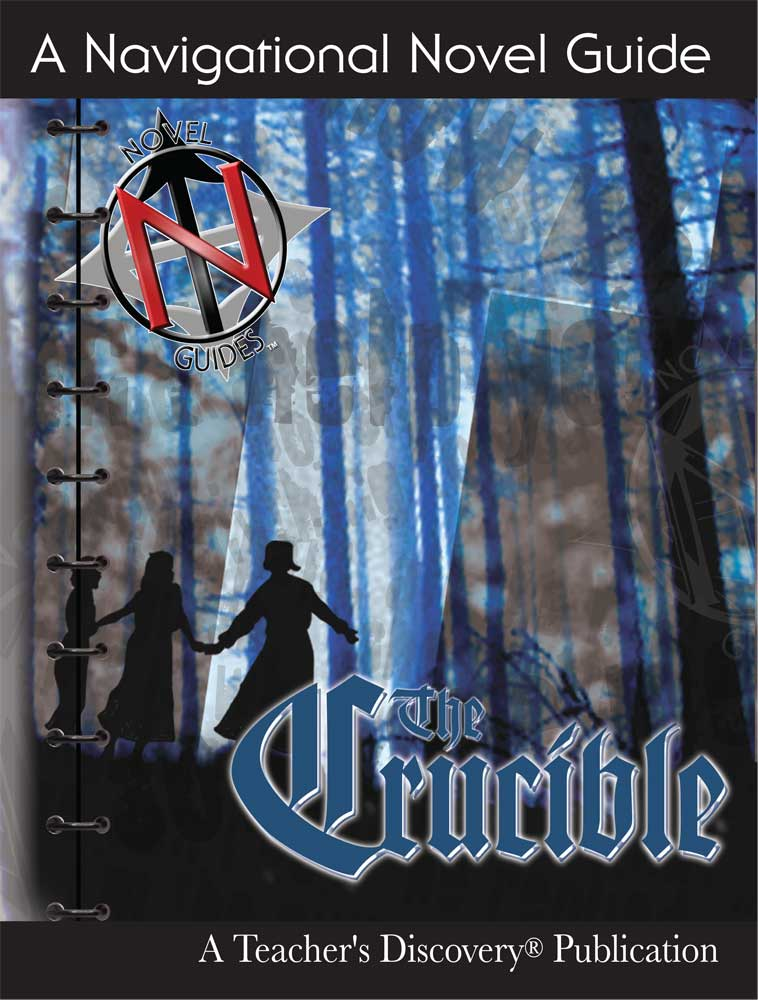 The Crucible Novel Guide Book on CD