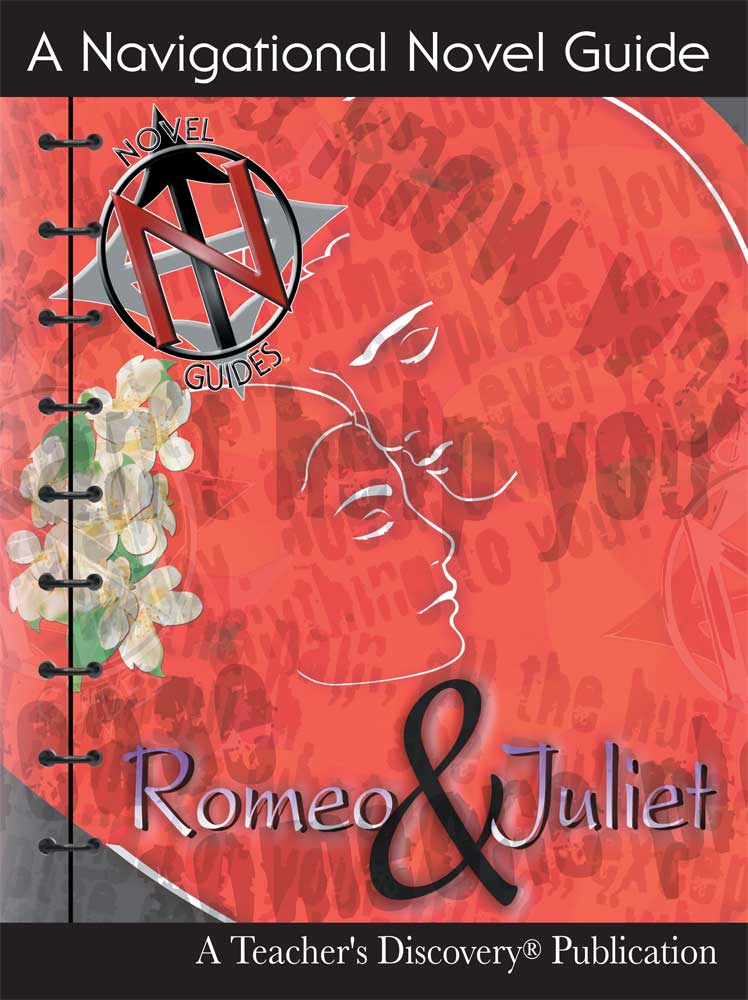 Romeo and Juliet Novel Guide Book on CD