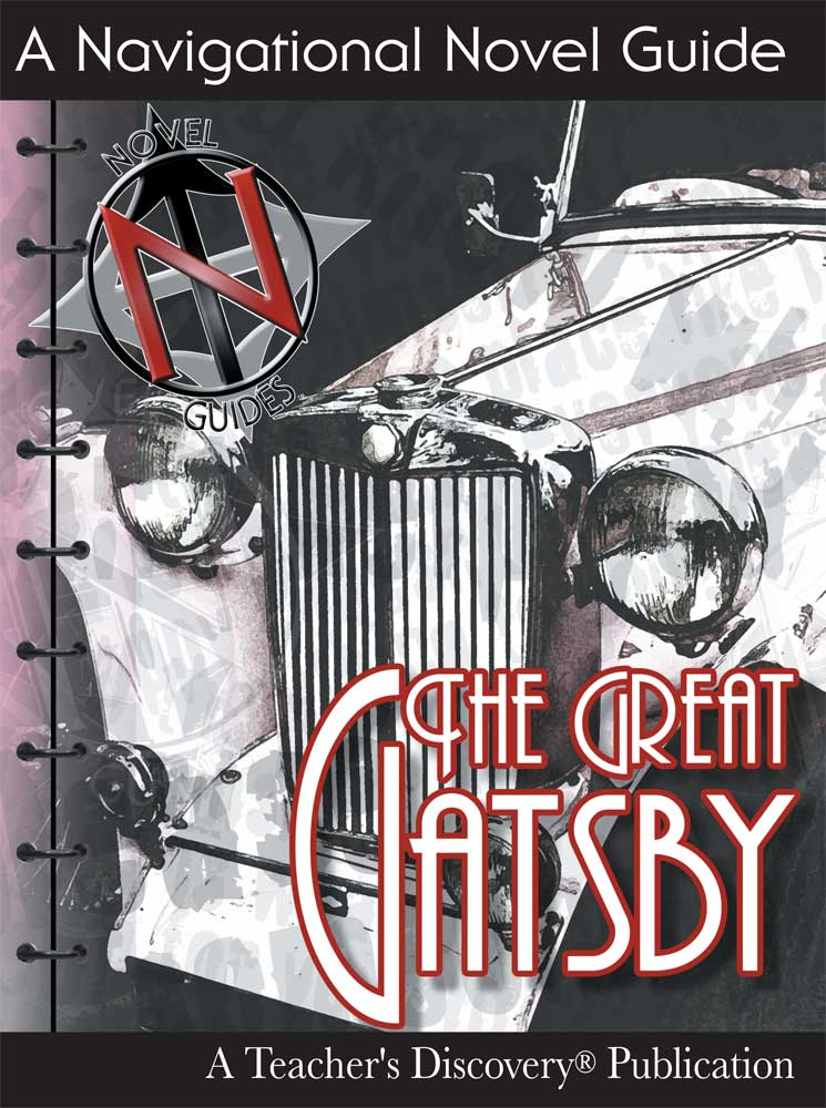 The Great Gatsby Novel Guide Book - The Great Gatsby Novel Guide Print Book