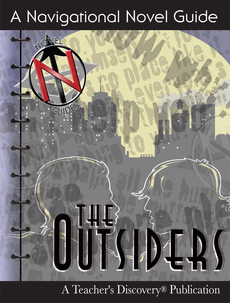 The Outsiders Novel Guide Book on CD