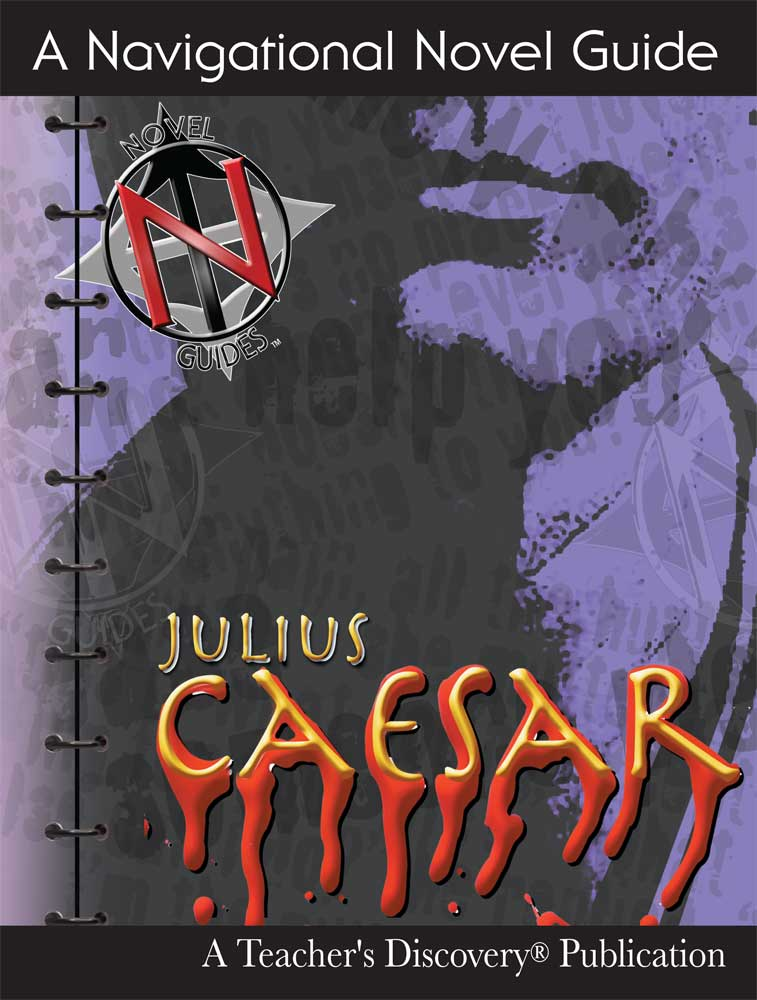 Julius Caesar Novel Guide Book