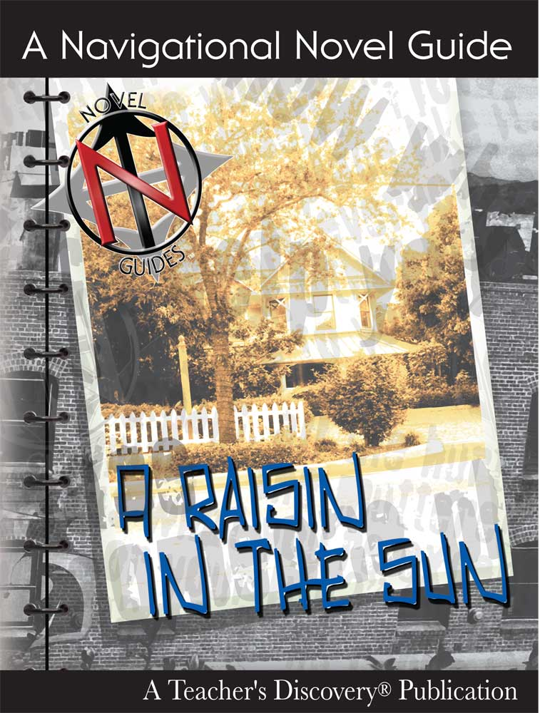 A Raisin in the Sun Novel Guide Book on CD