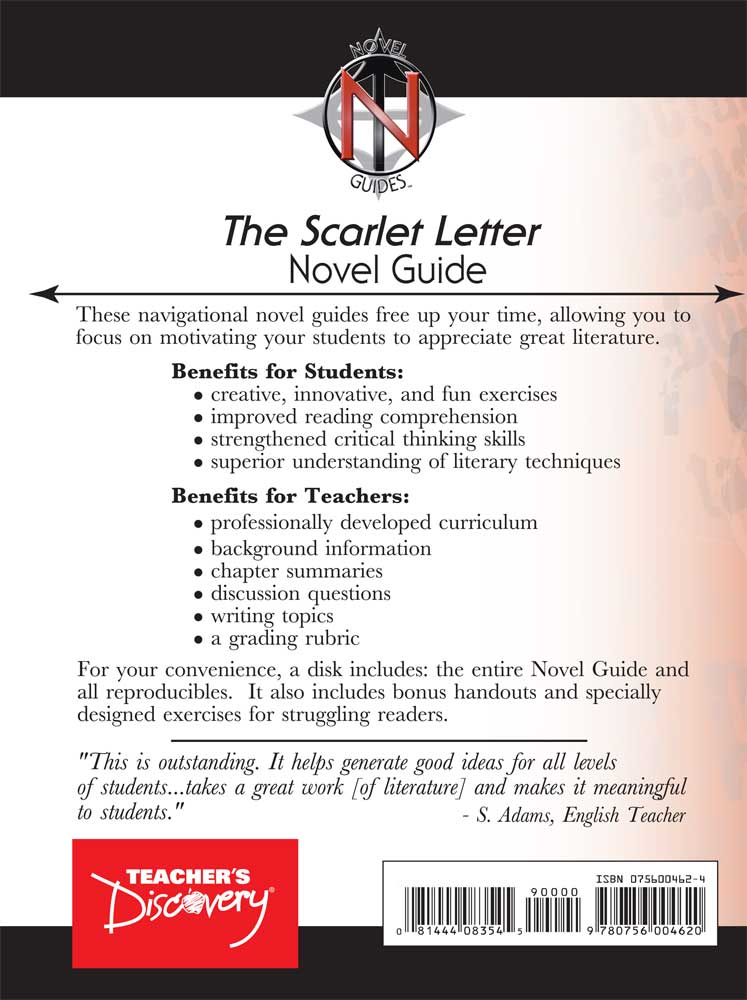 an analysis of the characters of the novel the scarlet letter by nathaniel hawthorne