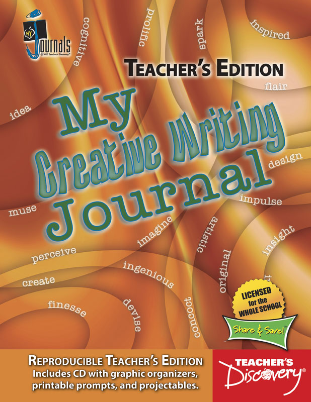 My Creative Writing Journal Teacher's Edition Print Book with CD