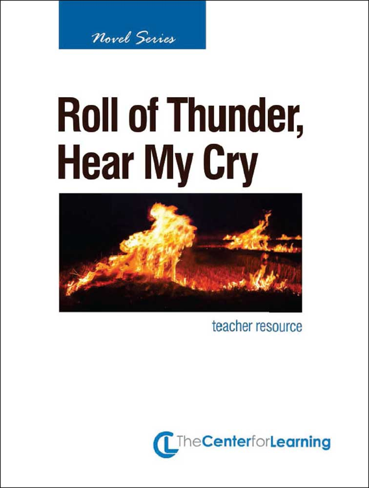 Roll of Thunder, Hear My Cry Curriculum Unit