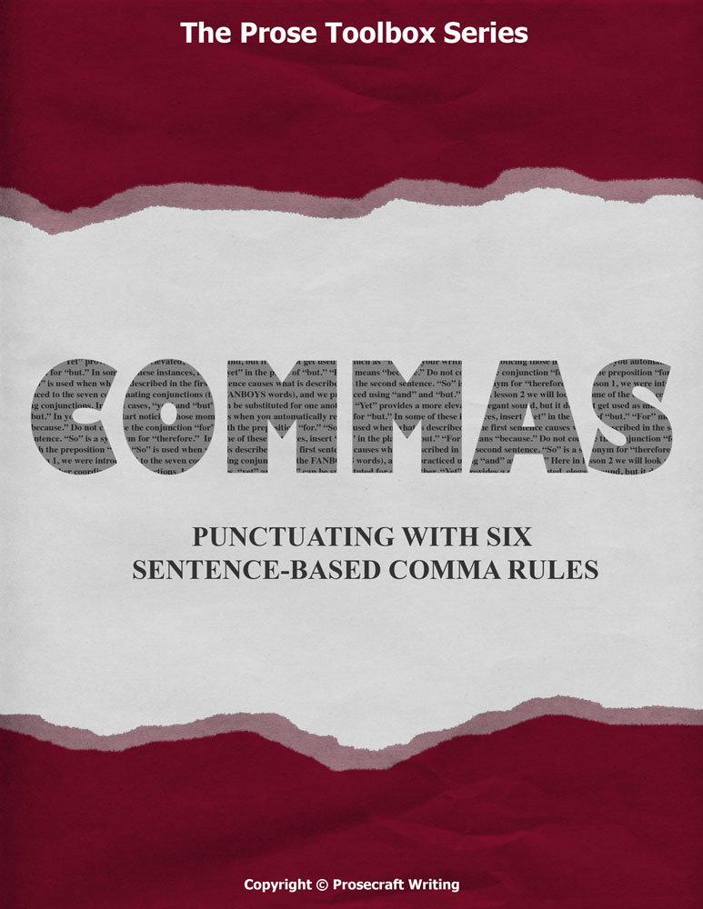 Prose Toolbox: Commas Unit