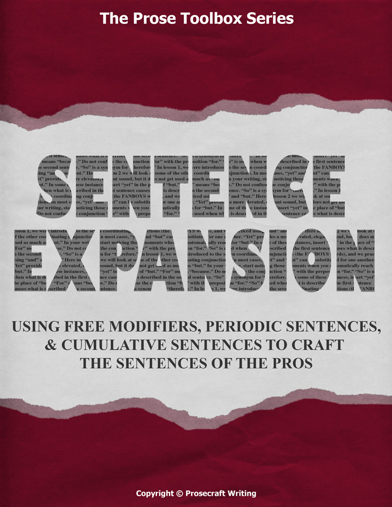 Prose Toolbox: Sentence Expansion Unit