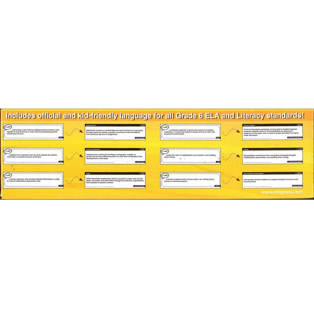 Common Core Display Strips Grade 6