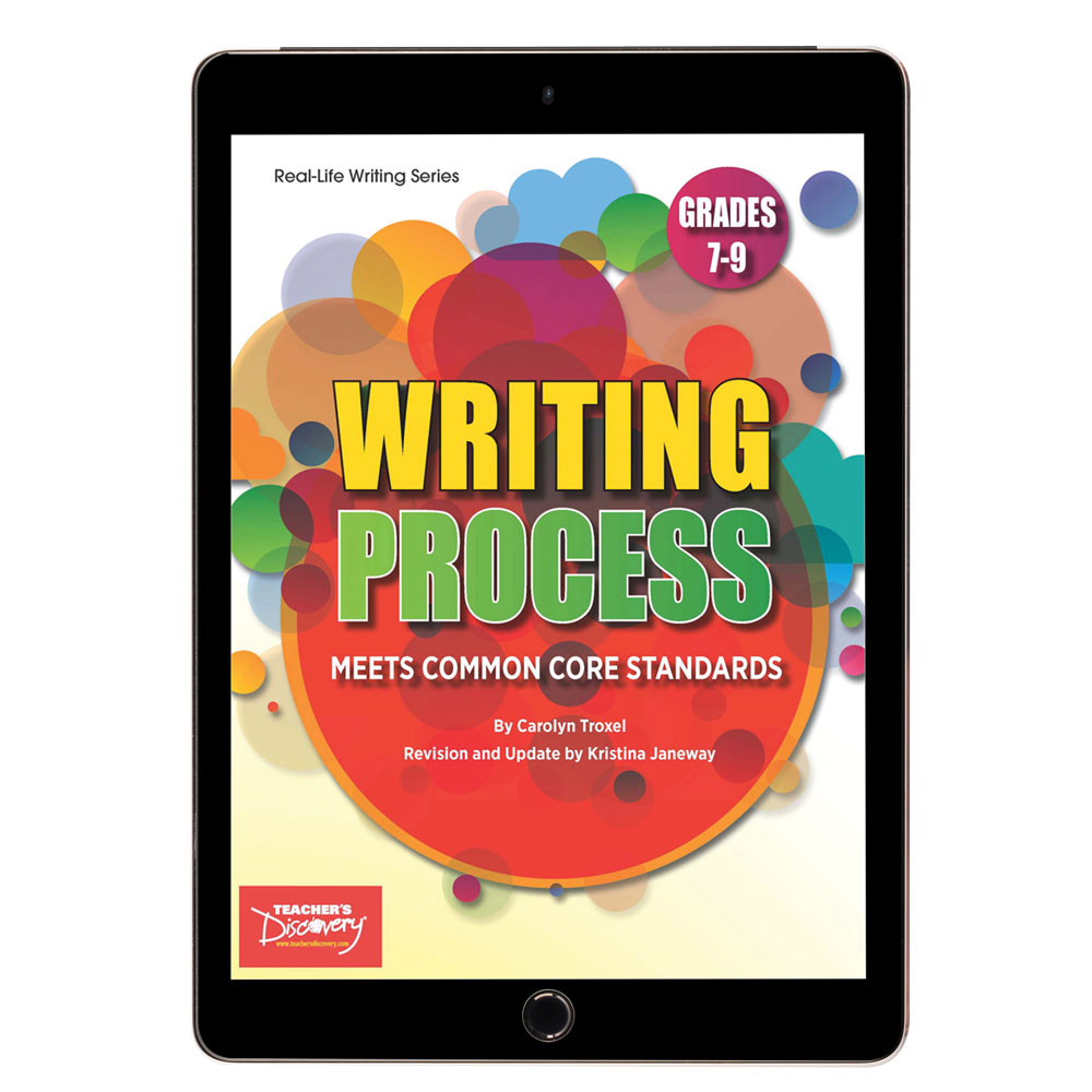 Writing Process Activity Book  - Writing Process Activity Print Book