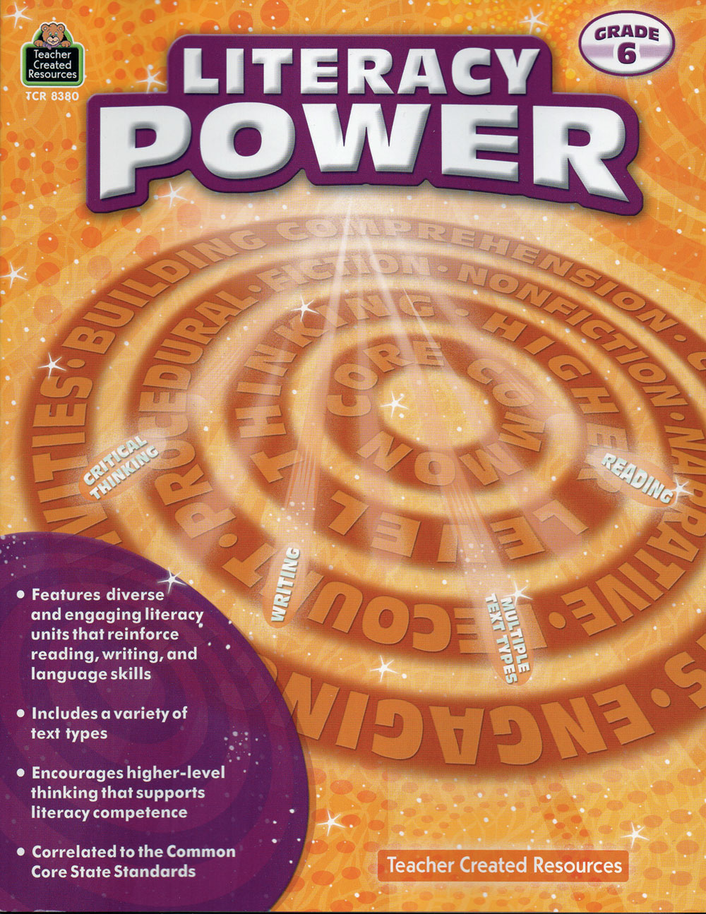 Literacy Power Activity Books
