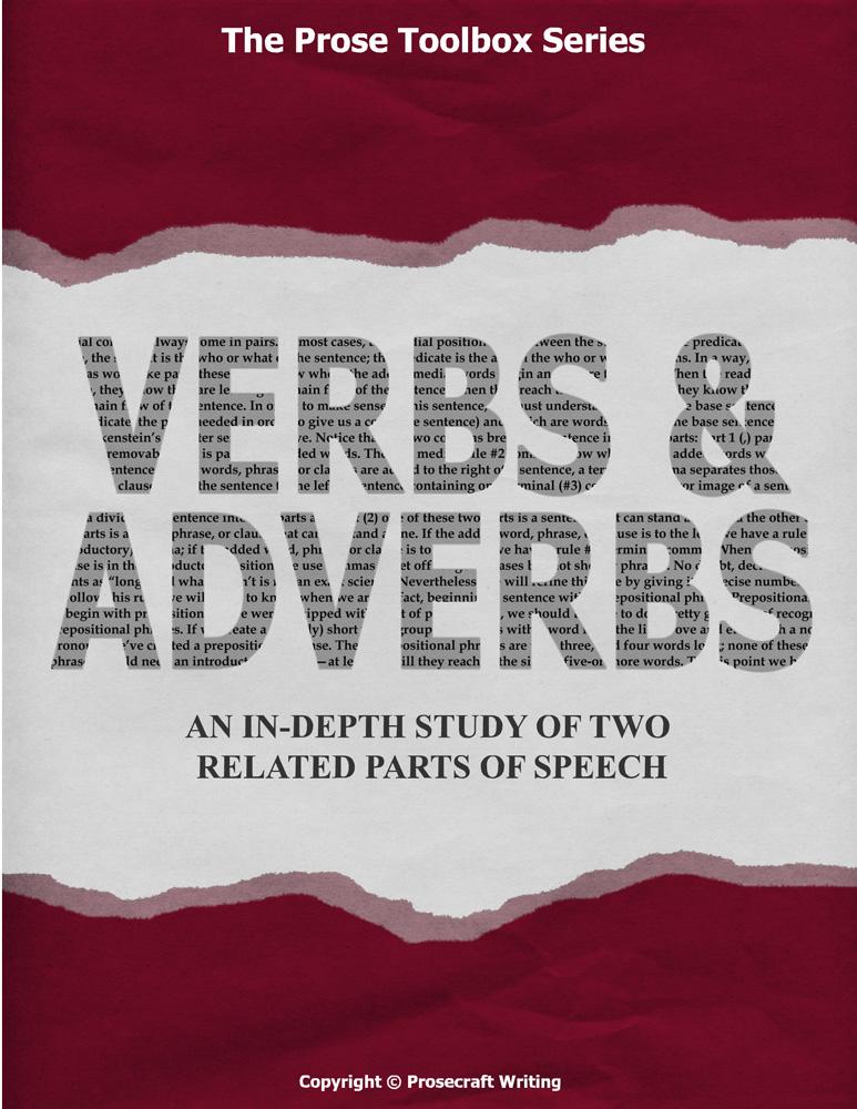 Prose Toolbox Verbs And Adverbs Unit English Teacher S