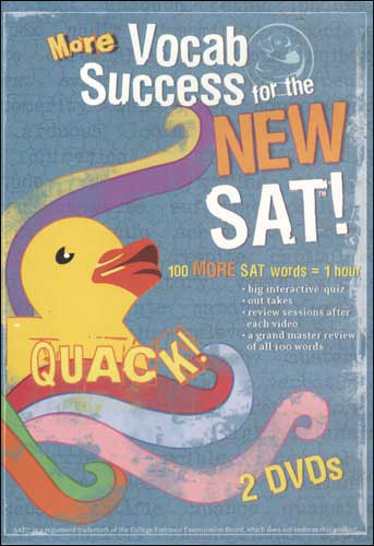 Quack! Vocab Success for the New SAT, Volumes 6-10 DVDs