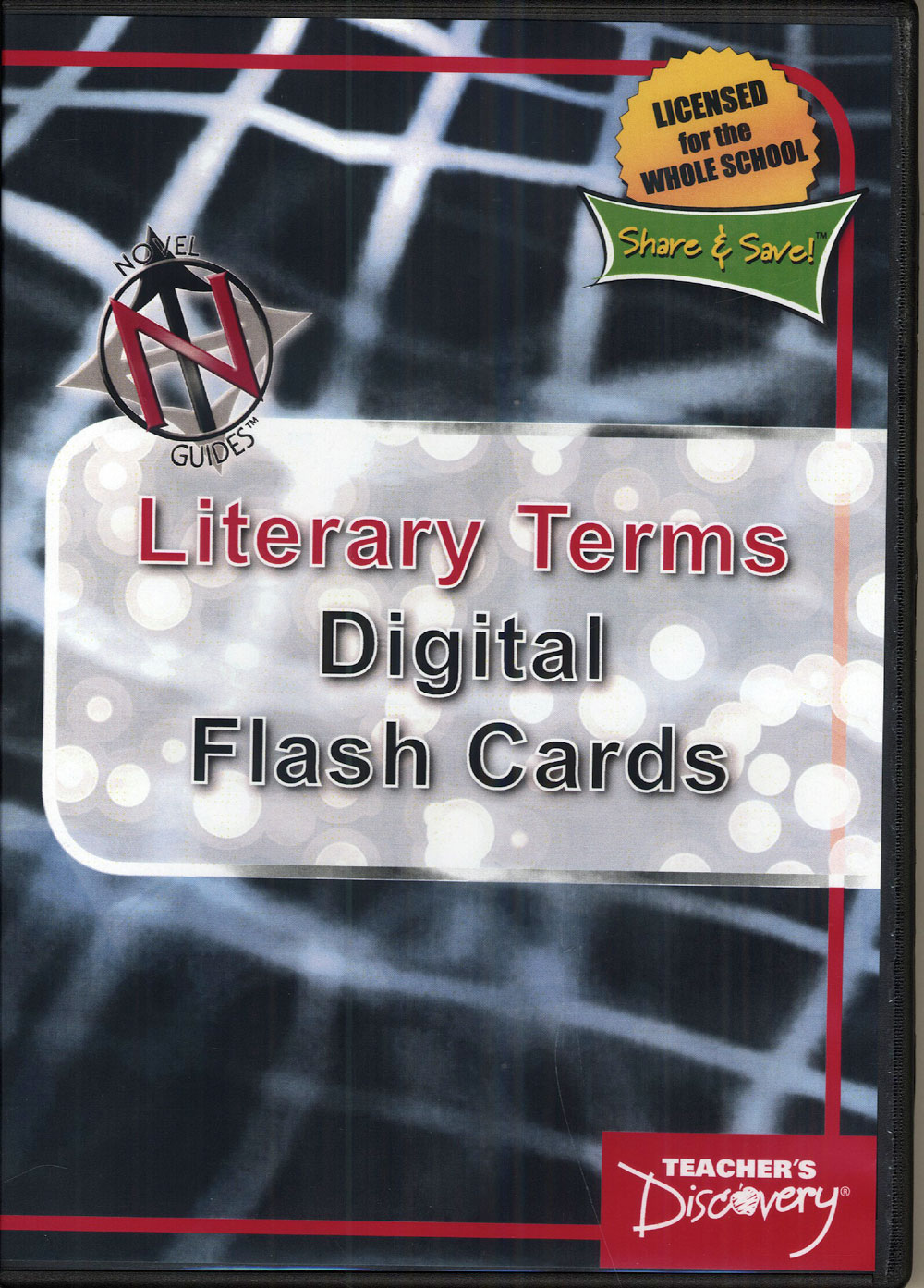 Novel Guide Literary Terms Digital Flash Cards