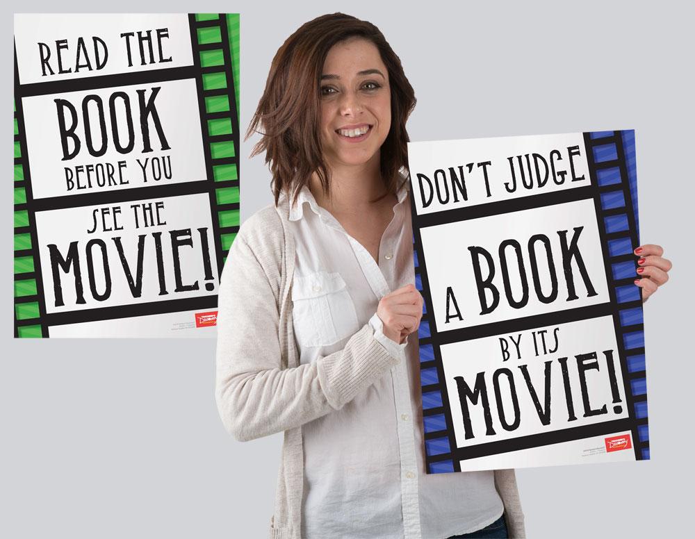 Don't Blame the Book! Mini-Poster Set