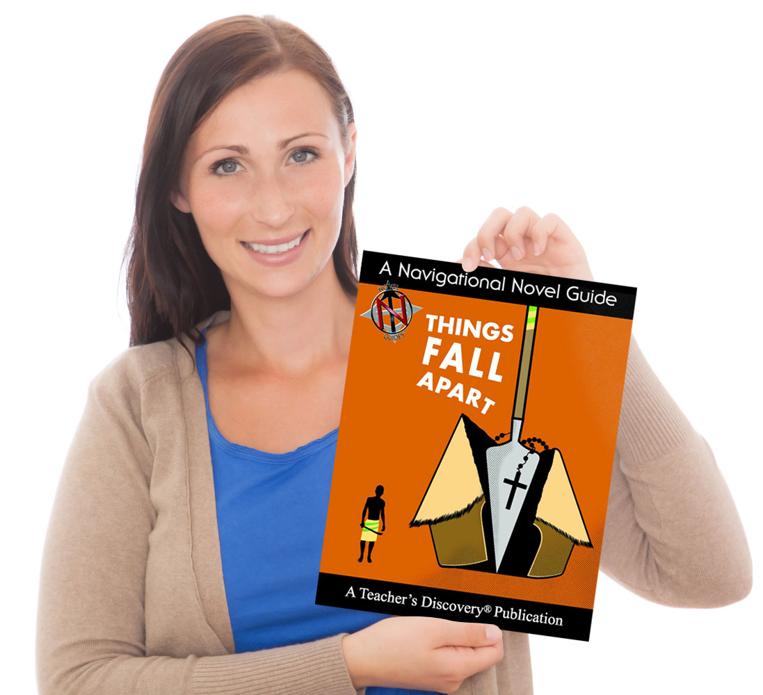 Apartguide: Things Fall Apart Novel Guide Book, English: Teacher's
