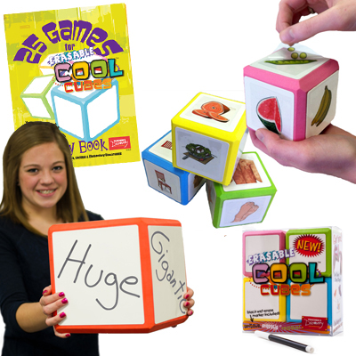 French Mega Set!  Erasable Cool Cube™ Set of Everything