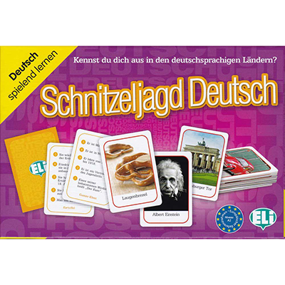 Schnitzeljagd Deutsch German Game