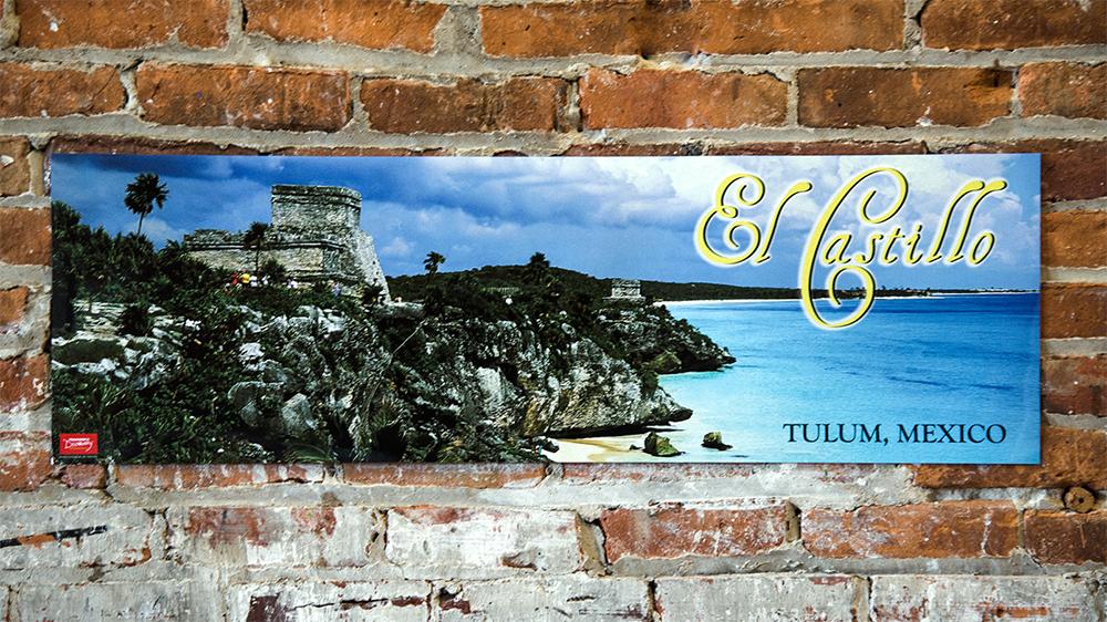 Tulum, Mexico Panoramic Poster