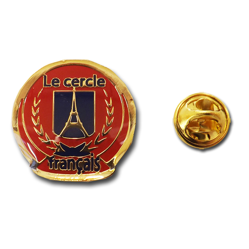 French Club Pin