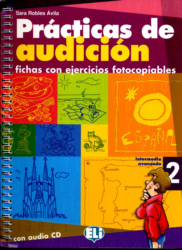 Prácticas de audición 2 Spanish Activity Book and Audio CD