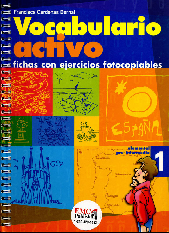 Vocabulario Activo 1 Spanish Activity Book