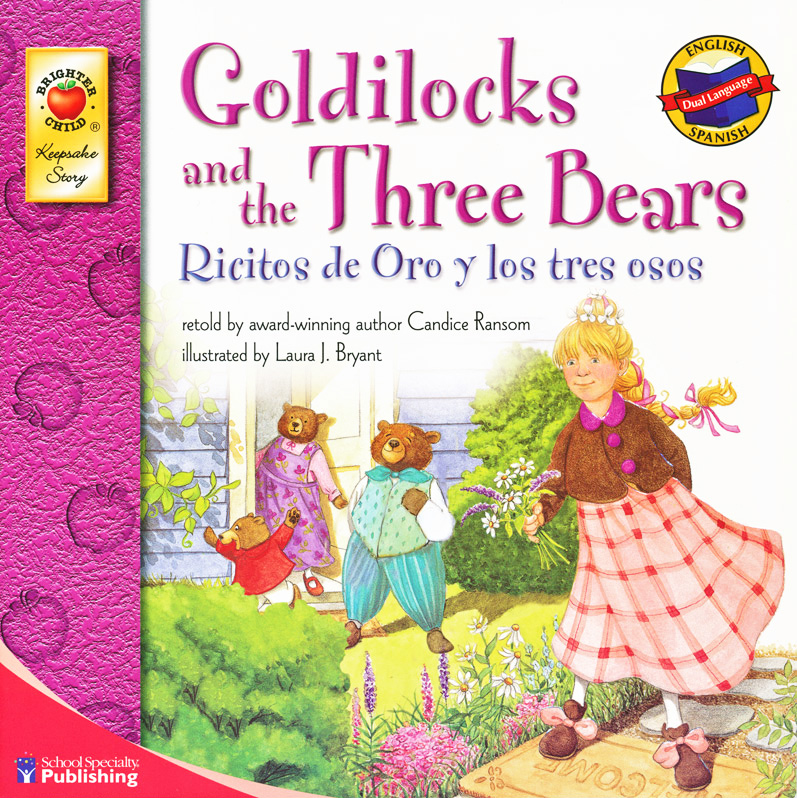Goldilocks and the Three Bears Spanish/English Book