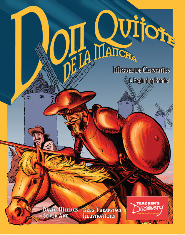 Don Quijote de la Mancha Spanish Level 1 Graphic Reader