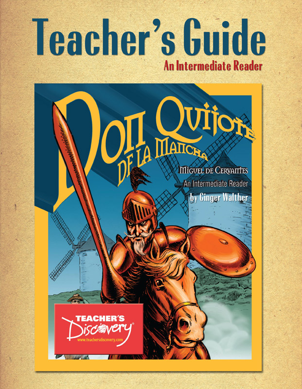 Don Quijote de la Mancha Spanish Level 2 Graphic Reader Teacher's Guide