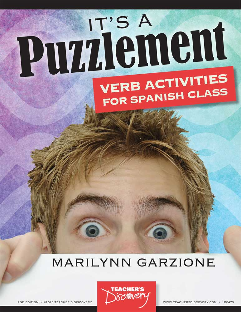 It's a Puzzlement Verb Activities for Spanish Class Download