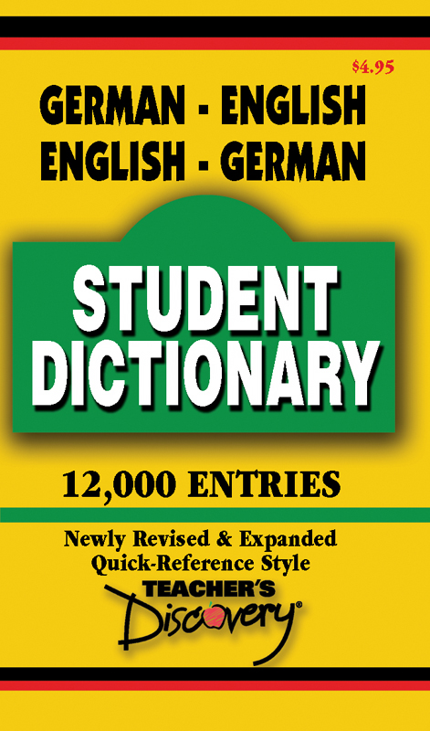 German Student Dictionary