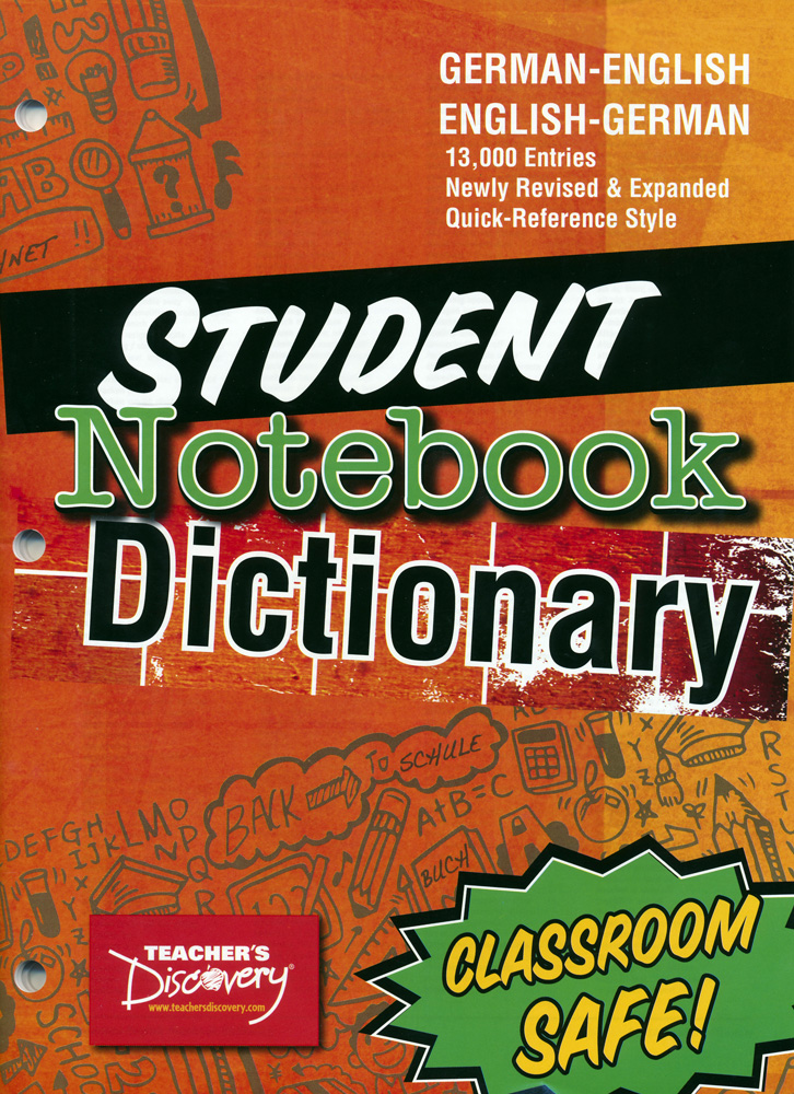 German Notebook Dictionary