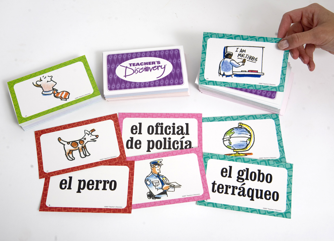 Spanish Concentration Cards: Basic Nouns