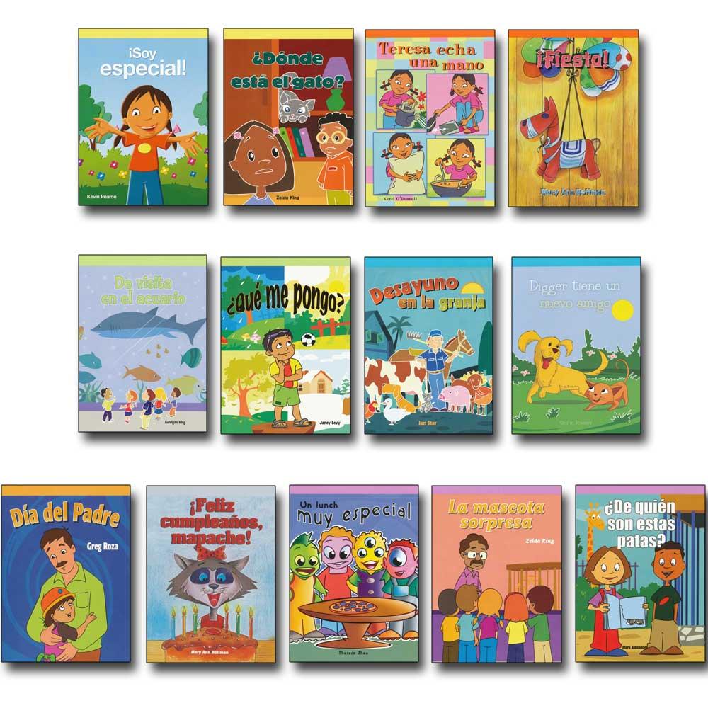 Beginning Spanish Readers Mini Library