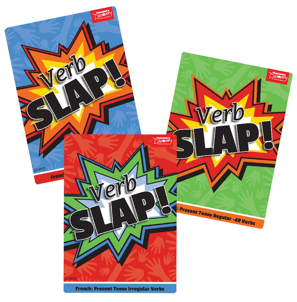 Verb Slap! French Games