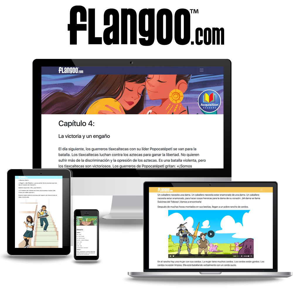 Flangoo™ Spanish Digital Readers Subscription