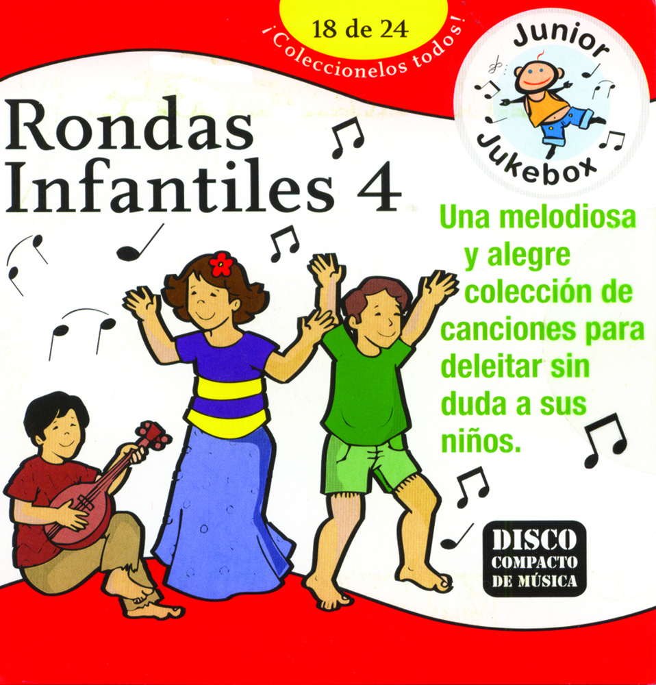 Rondas Infantiles 4 CD