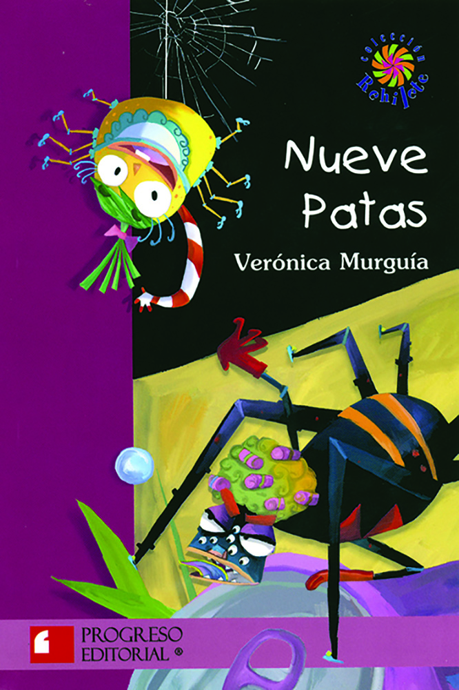 Nueve patas Spanish Story Book & CD
