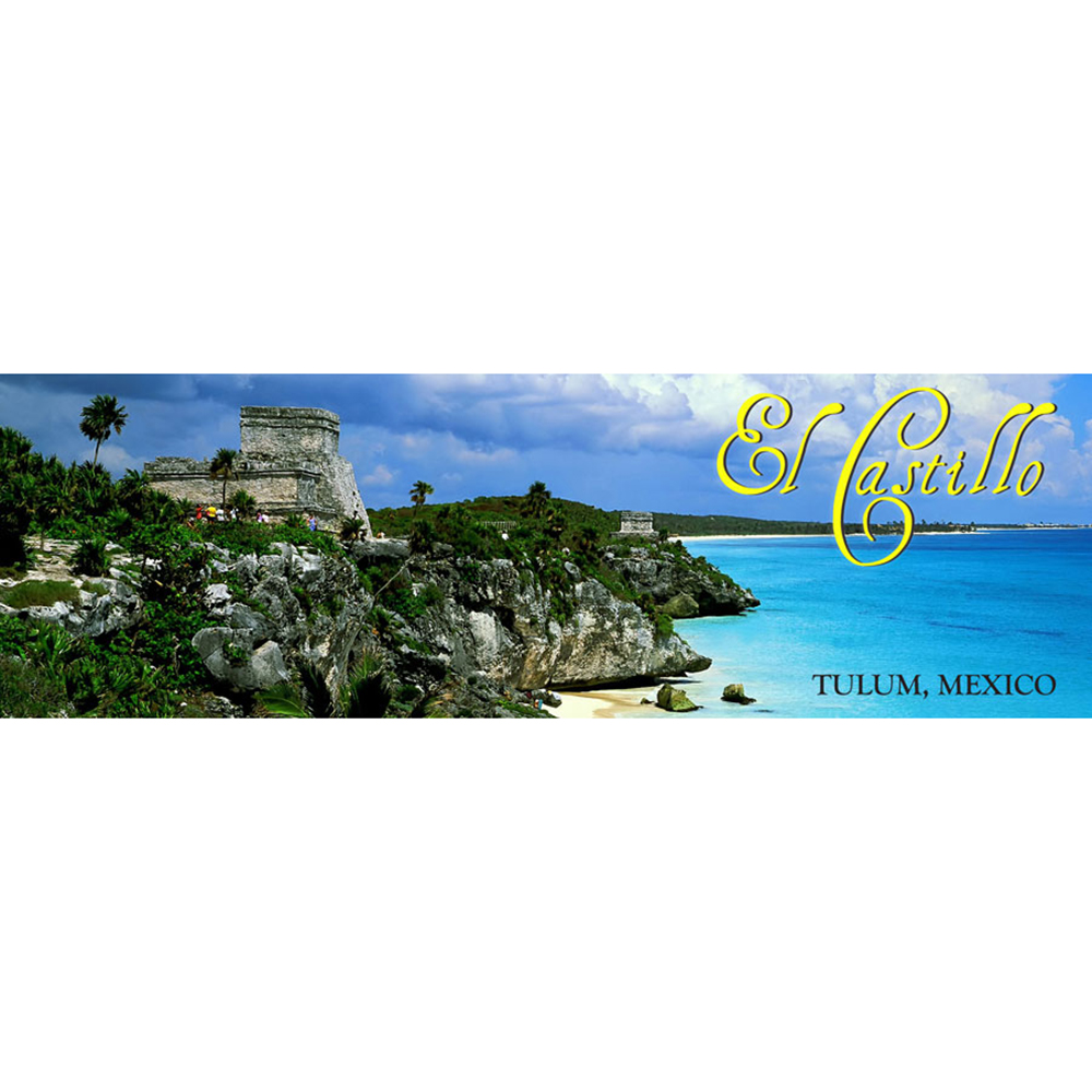 Tulum, Mexico Panoramic Poster