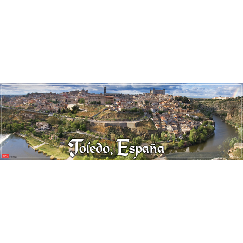 Toledo España Panoramic Poster