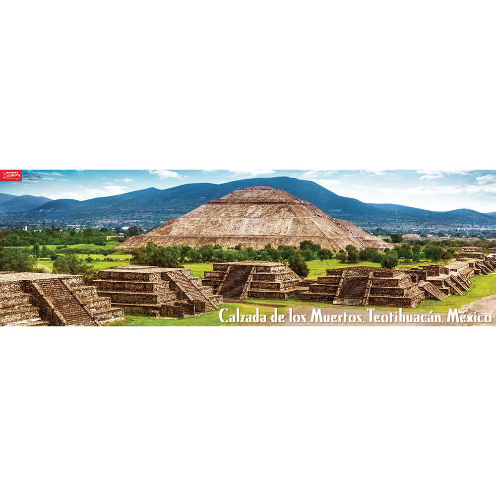 Teotihuacan Mexico Panoramic Poster (2015)