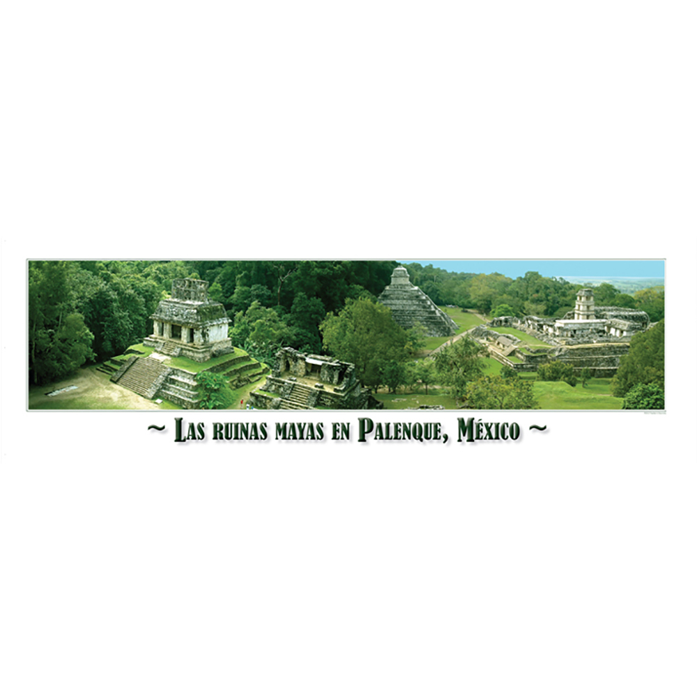 Mexican Ruins Panoramic Poster