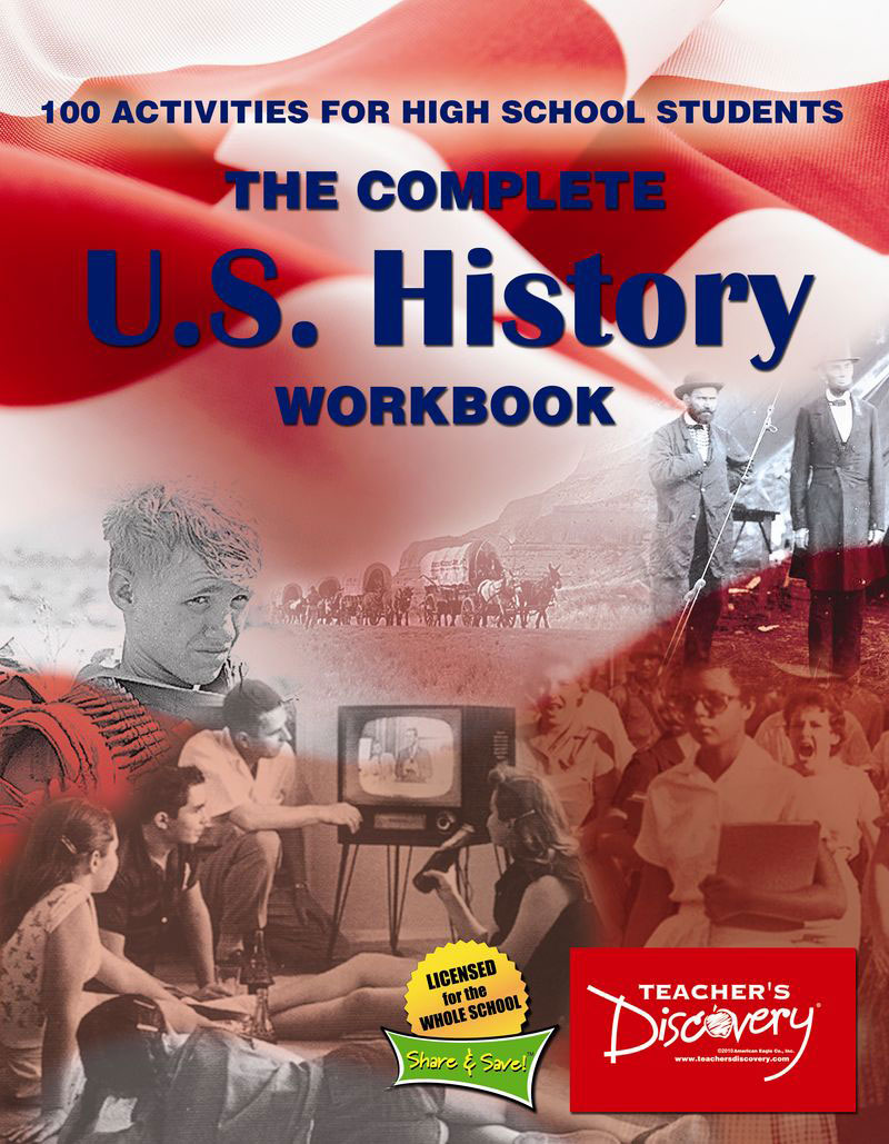 Complete U.S. History Workbook for HS Teacher's Edition Book