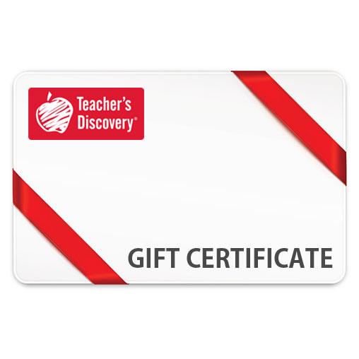Teacher's Discovery eGift Certificate